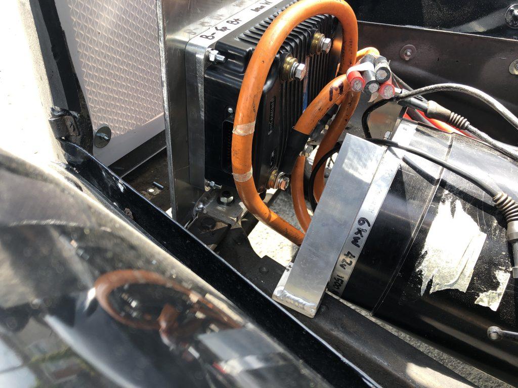 The motor heatsink